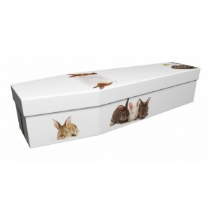 Rabbit – Animal & Pet Design Picture Coffin