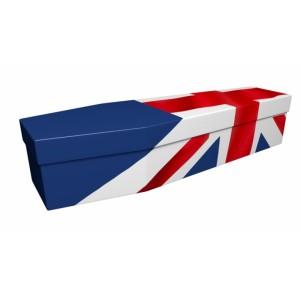 UNION JACK (UK, British, Great Britain) - Flag Design Picture Coffin