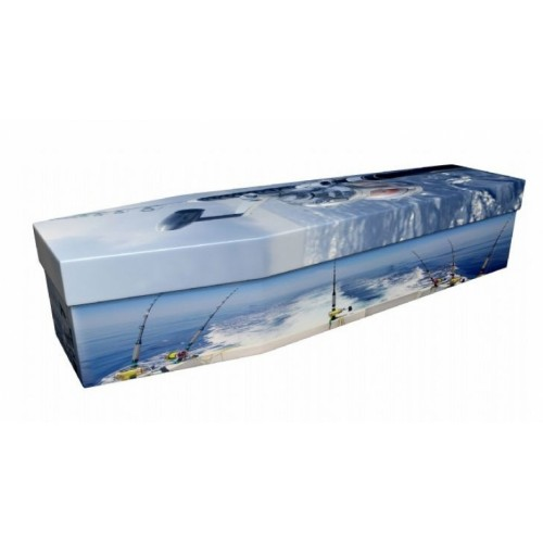 Deep Sea Fishing – Sports & Hobbies Design Picture Coffin
