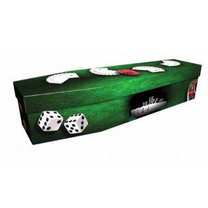 Gambling – Sports & Hobbies Design Picture Coffin