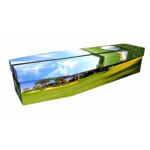 Golf – Sports & Hobbies Design Picture Coffin