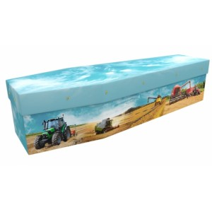 Arable Farmer - Job & Lifestyle Design Picture Coffin