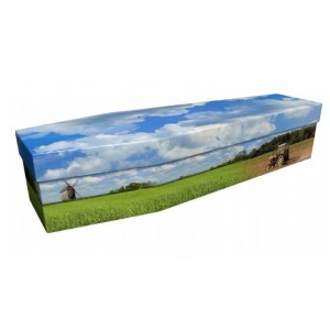 An Office with a View (Farmer) - Job & Lifestyle Design Picture Coffin