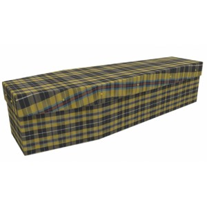 Scottish / Scotland Tartan - Job & Lifestyle Design Picture Coffin