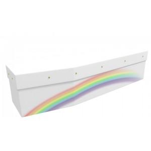 Soft Pale Rainbow – You are Beautiful… - Landscape / Scenic Design Picture Coffin