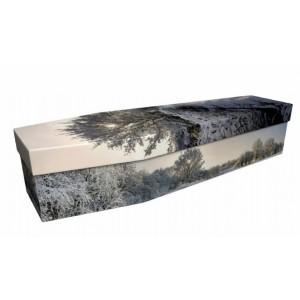 Winter  Wonderland – Landscape / Scenic Design Picture Coffin