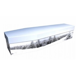 Let It Snow - Landscape / Scenic Design Picture Coffin