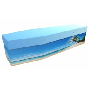 Paradise Beach - Landscape / Scenic Design Picture Coffin