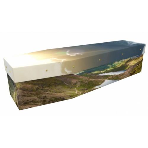 Wales (Mountain Views) - Landscape / Scenic Design Picture Coffin