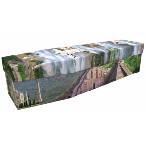 Travel to the Seven Wonders of the World - Landscape / Scenic Design Picture Coffin