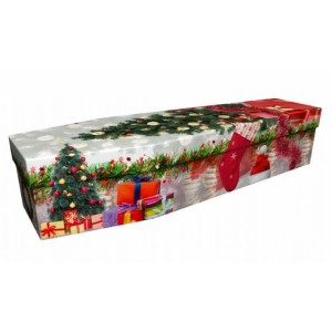 Christmas – Landscape / Scenic Design Picture Coffin