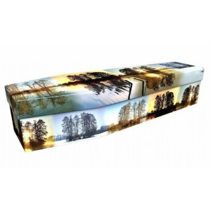 Seasons of the Year  – Landscape / Scenic Design Picture Coffin