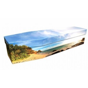 Paradise Beach – Landscape / Scenic Design Picture Coffin
