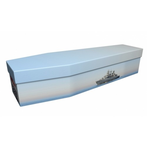 THE TEAM WORKS (Royal Navy) – Military & Patriotic Design Picture Coffin