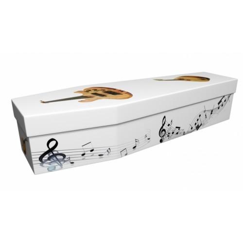 Go Where The Mandolin Takes You - Lost in Music Design Picture Coffin