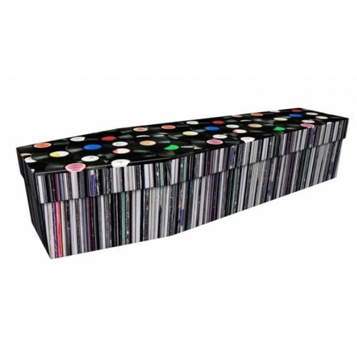 Record Store - Lost in Music Design Picture Coffin