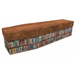 Love of Books - Sports & Hobbies Design Picture Coffin