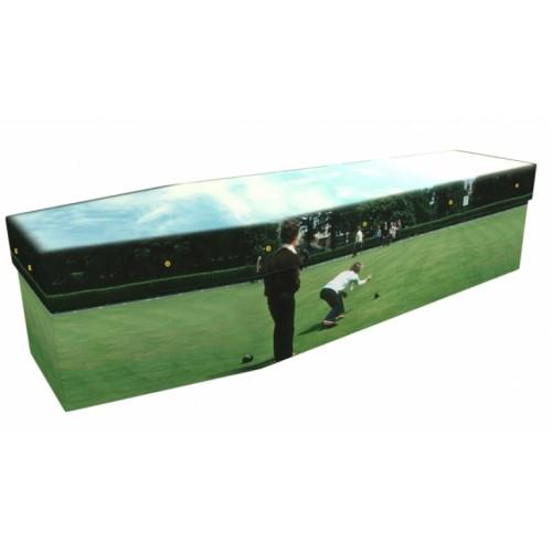 Lawn Bowls - Sports & Hobbies Design Picture Coffin