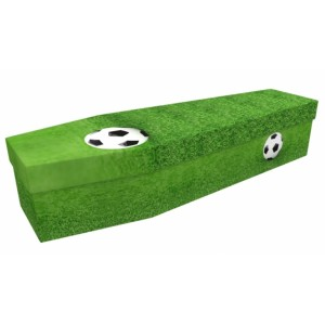 Soccer - Sports & Hobbies Design Picture Coffin