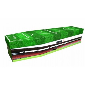 Football Stadium - Sports & Hobbies Design Picture Coffin
