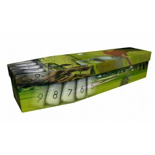 Ultimate Golf - Sports & Hobbies Design Picture Coffin
