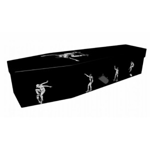 Rideable Art (Skateboarder) - Sports & Hobbies Design Picture Coffin