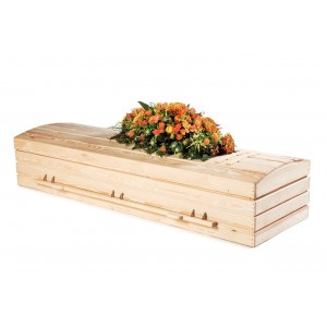 Premium Pine Imperial Casket. THE NATURAL CHOICE. Exceptional Quality - Low Prices