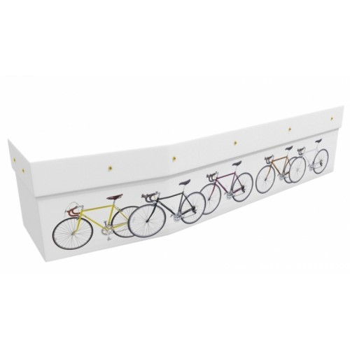 Cycling - Sports & Hobbies Design Picture Coffin