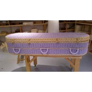 Your Colour - Wild Pineapple Imperial Coffin – NATURAL & LILAC – Available in the range of colours