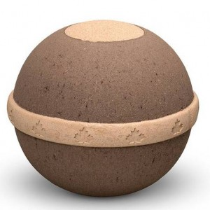 Natural Biodegradable Cremation Ashes Urn – Geo Earth Ball – Land Burial