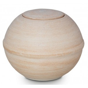 Natural Biodegradable Cremation Ashes Urn – Organic Ball – Land or Sea Burial