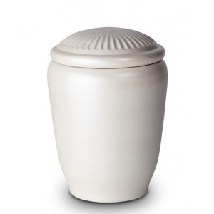 Passage to Nature Cremation Ashes Funeral Urn - Water, Sea or Land Ash Burial (Shade of Pearl)