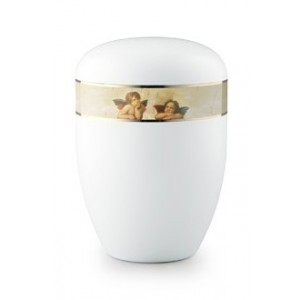 Biodegradable Cremation Ashes Urn (Care of Angels - Cherubs)