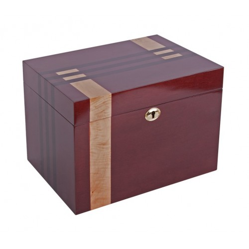 Solid Wood Cremation Ashes Casket - Lockable Memory Drawer - ***FREE Engraving***