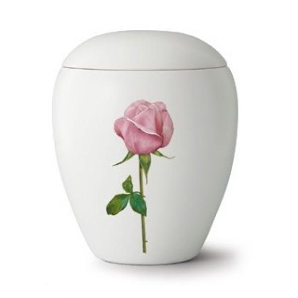 Floral Rose Cremation Ashes Urn