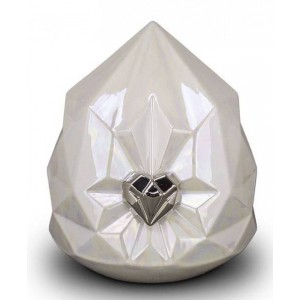 Medium Ceramic Cremation Ashes Urn – Mastaba Edition - House of Eternity - Diamante