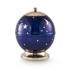 Infant / Child / Baby / Boy / Girl – Moon and Stars (Heaven's Above) Cremation Ashes Urn
