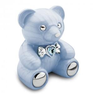 Infant / Child / Boy / Girl Cremation Ashes Funeral Urn (Cuddle Memory Bear - Blue)