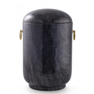 Unique Granite Natural Stone Cremation Ashes Urn – Shades of Blue