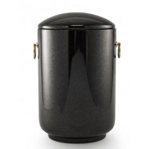 Unique Granite Natural Stone Cremation Ashes Urn – Deep Indian Black