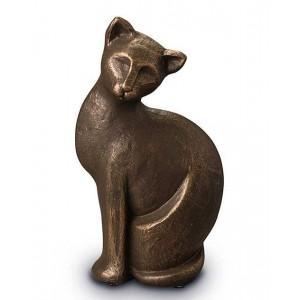 Exclusive Ceramic Cremation Ashes Urn Liquid Bronze – What's New Pussycat (Capacity 0.7 litres)