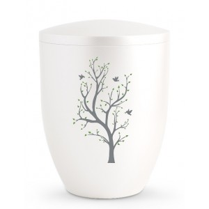 Biodegradable Cremation Ashes Urn – Tree of Life Edition – Buds of Spring