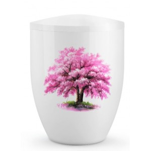 Biodegradable Cremation Ashes Urn – Tree of Life Edition – Rosa Magnolia