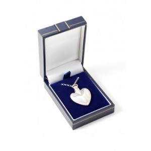 Silver Heart Ashes Jewellery