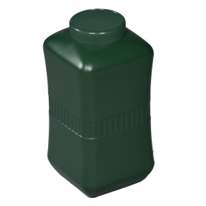 Polytainer Cremation Ashes Urn / Casket – Forest Green – Effective Storage of Cremated Remains