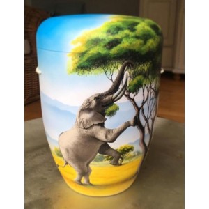 Biodegradable Cremation Ashes Funeral Urn / Casket – ELEPHANT