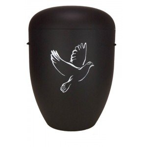 Biodegradable Cremation Ashes Funeral Urn / Casket - ASCENDING DOVE
