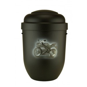 Biodegradable Cremation Ashes Funeral Urn / Casket - ULTIMATE MOTORCYCLING