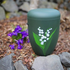 Biodegradable Cremation Ashes Funeral Urn / Casket – SNOWDROP SERENITY