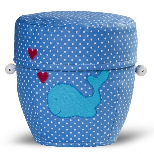 Biodegradable Cremation Ashes Urn (Infant / Girl / Boy / Child) – **Star Children** Small Whale